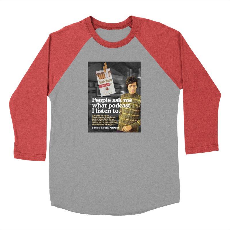 Bloody Murder 1970's Magazine Style Advert Men's Longsleeve T-Shirt by Bloody Murder's Artist Shop