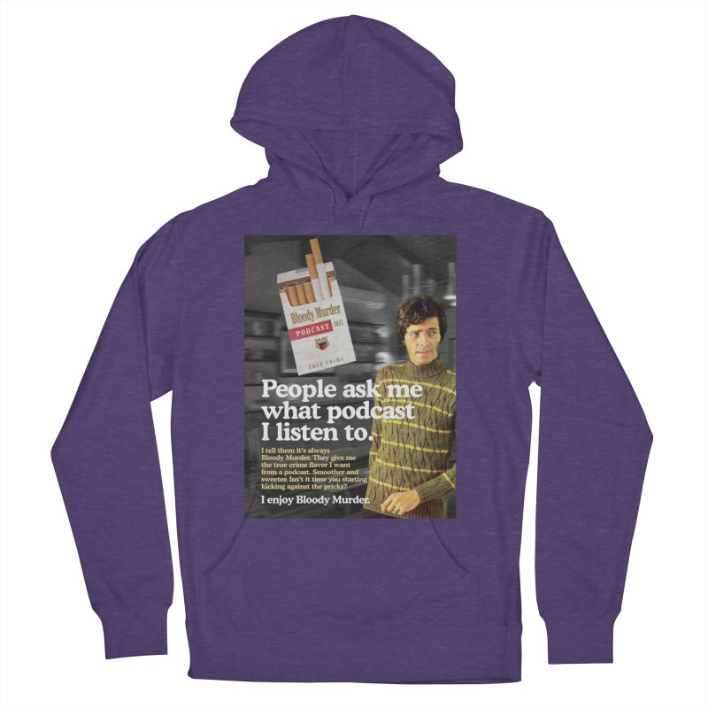 Bloody Murder 1970's Magazine Style Advert Men's French Terry Pullover Hoody by Bloody Murder's Artist Shop