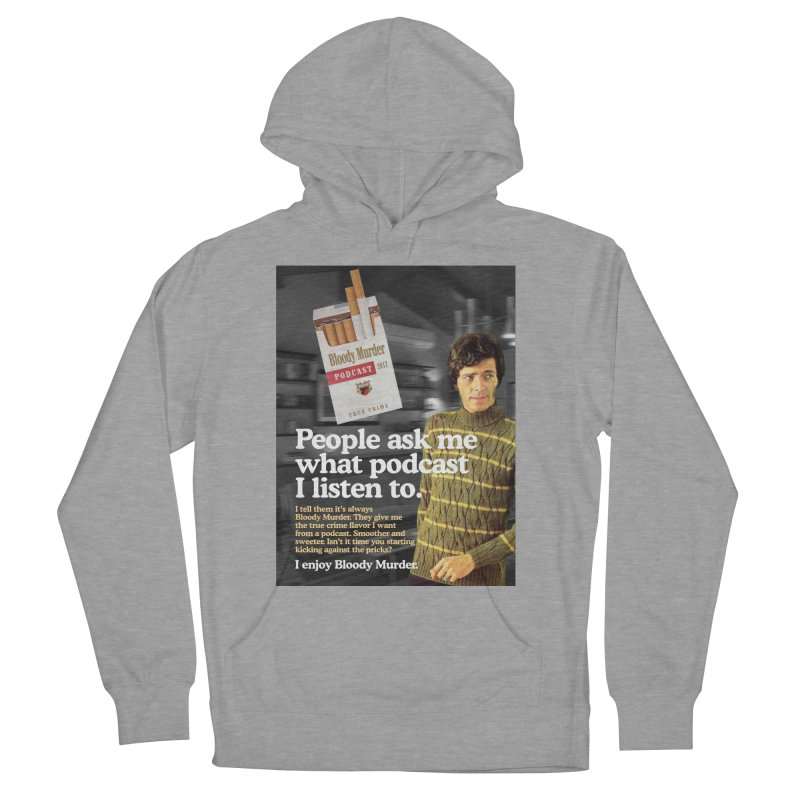 Bloody Murder 1970's Magazine Style Advert Men's French Terry Pullover Hoody by bloodymurder's Artist Shop