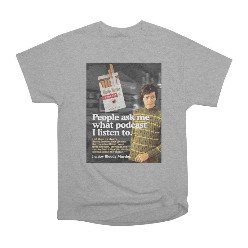 Bloody Murder 1970's Magazine Style Advert Women's Classic Unisex T-Shirt by bloodymurder's Artist Shop