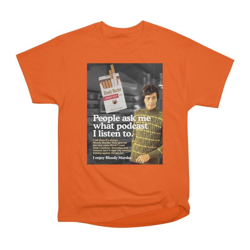 Bloody Murder 1970's Magazine Style Advert Women's Heavyweight Unisex T-Shirt by bloodymurder's Artist Shop