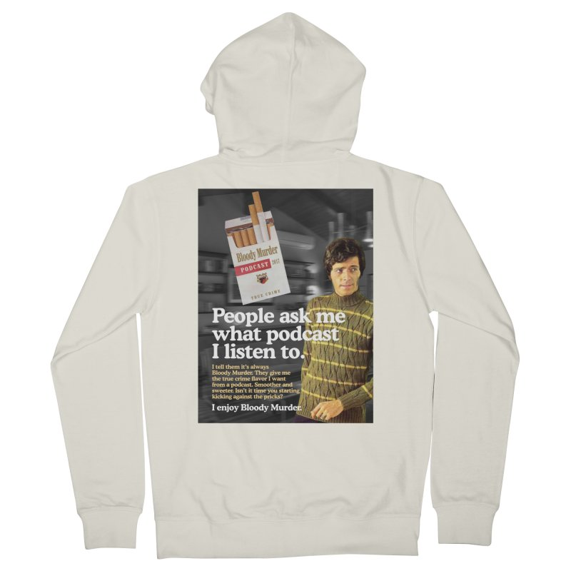 Bloody Murder 1970's Magazine Style Advert Women's Zip-Up Hoody by bloodymurder's Artist Shop