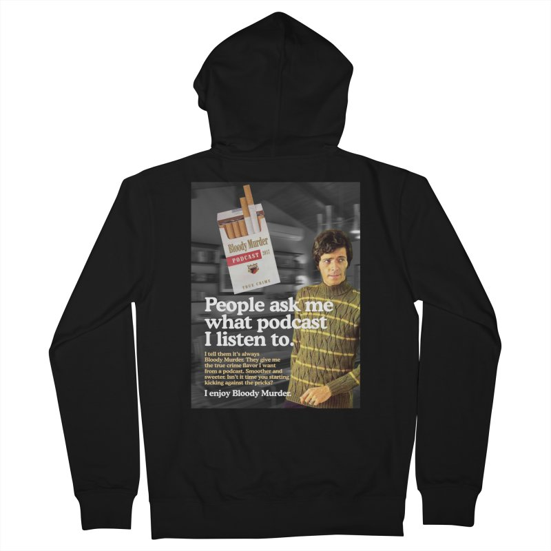 Bloody Murder 1970's Magazine Style Advert Men's French Terry Zip-Up Hoody by Bloody Murder's Artist Shop