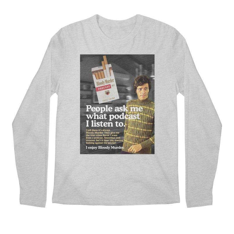 Bloody Murder 1970's Magazine Style Advert Men's Longsleeve T-Shirt by bloodymurder's Artist Shop
