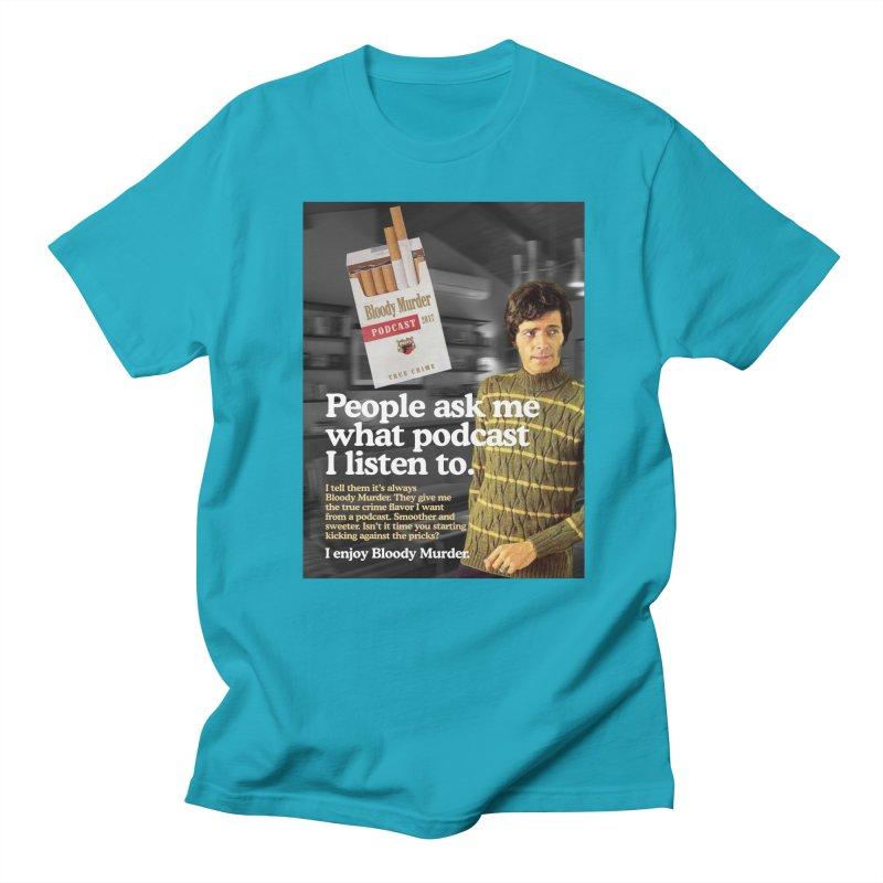 Bloody Murder 1970's Magazine Style Advert Men's Regular T-Shirt by bloodymurder's Artist Shop