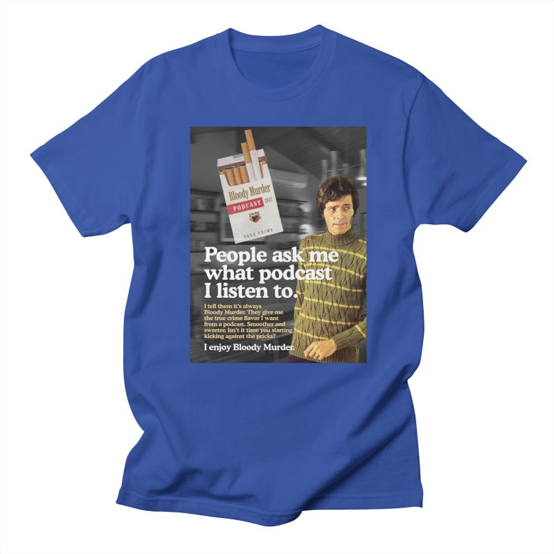 Bloody Murder 1970's Magazine Style Advert Men's Regular T-Shirt by Bloody Murder's Artist Shop