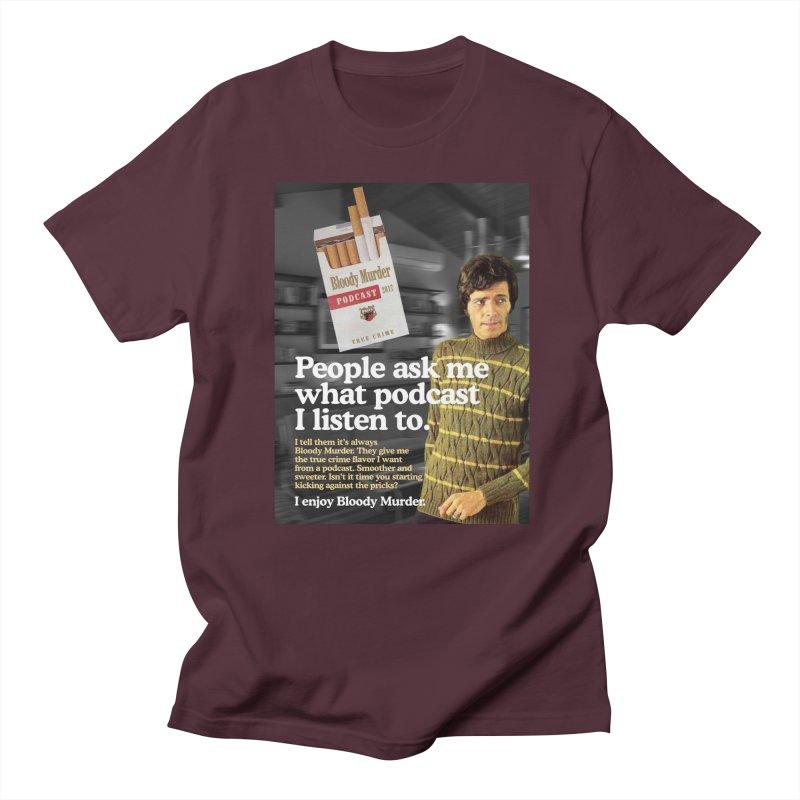 Bloody Murder 1970's Magazine Style Advert Women's Regular Unisex T-Shirt by bloodymurder's Artist Shop