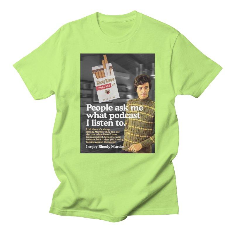 Bloody Murder 1970's Magazine Style Advert Men's T-Shirt by bloodymurder's Artist Shop