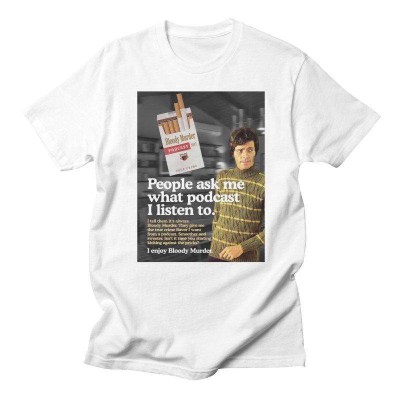 Bloody Murder 1970's Magazine Style Advert Men's Regular T-Shirt by Bloody Murder's Artist Shop