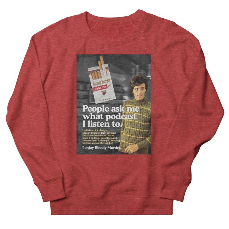 Bloody Murder 1970's Magazine Style Advert Women's French Terry Sweatshirt by Bloody Murder's Artist Shop