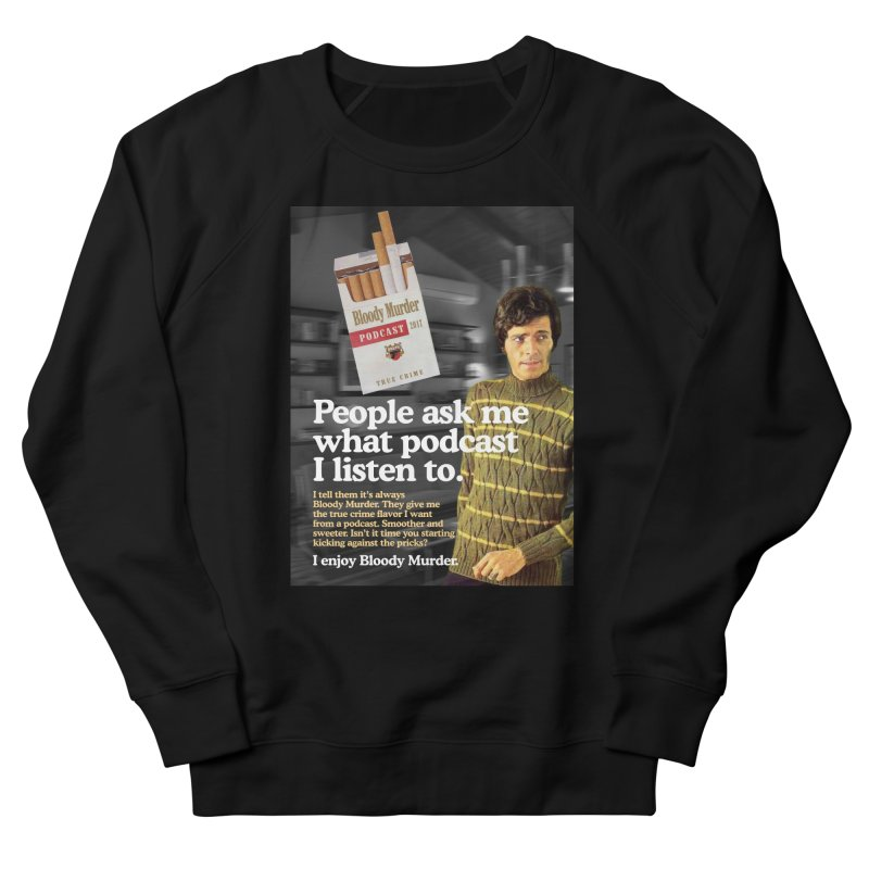 Bloody Murder 1970's Magazine Style Advert Women's Sweatshirt by bloodymurder's Artist Shop