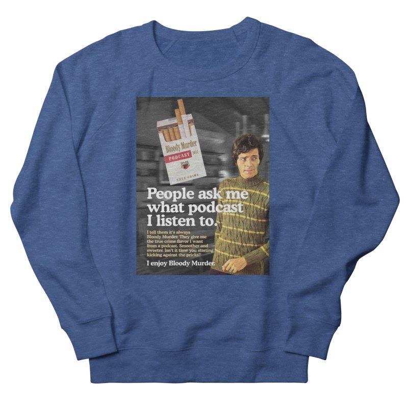 Bloody Murder 1970's Magazine Style Advert Men's Sweatshirt by Bloody Murder's Artist Shop
