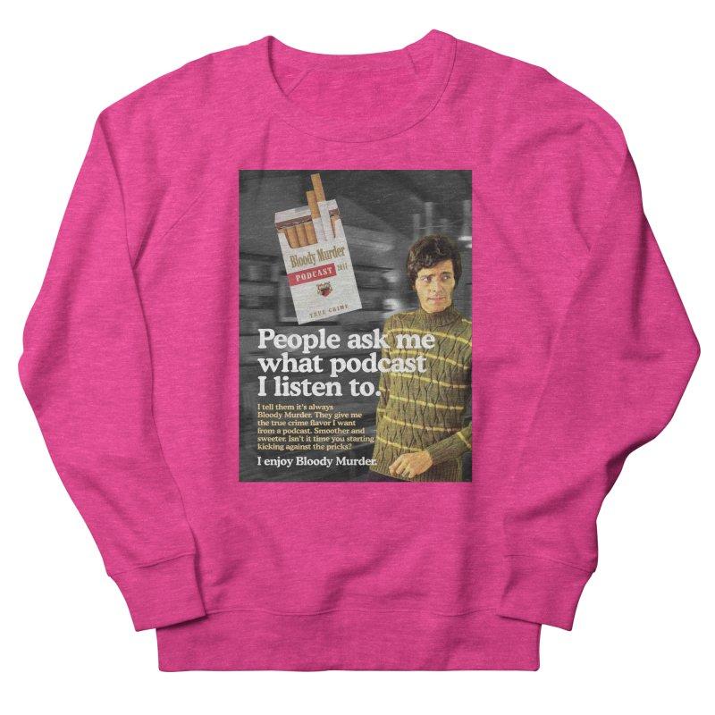Bloody Murder 1970's Magazine Style Advert Men's Sweatshirt by bloodymurder's Artist Shop