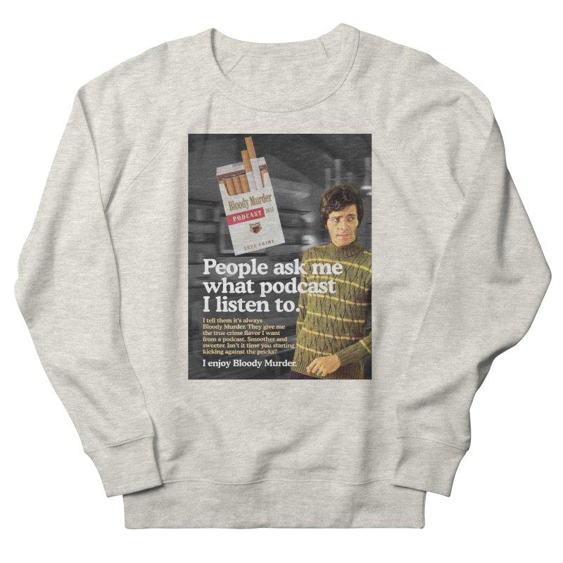 Bloody Murder 1970's Magazine Style Advert Men's French Terry Sweatshirt by Bloody Murder's Artist Shop