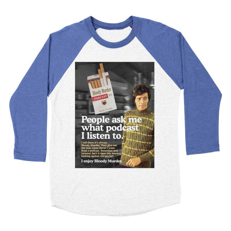 Bloody Murder 1970's Magazine Style Advert Women's Baseball Triblend Longsleeve T-Shirt by Bloody Murder's Artist Shop