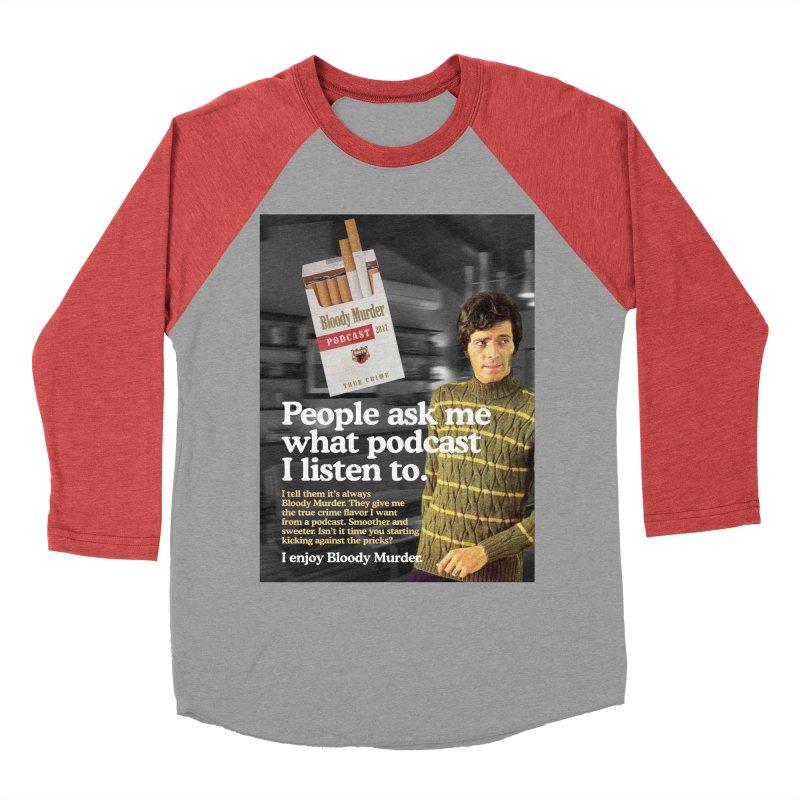 Bloody Murder 1970's Magazine Style Advert Women's Baseball Triblend Longsleeve T-Shirt by bloodymurder's Artist Shop