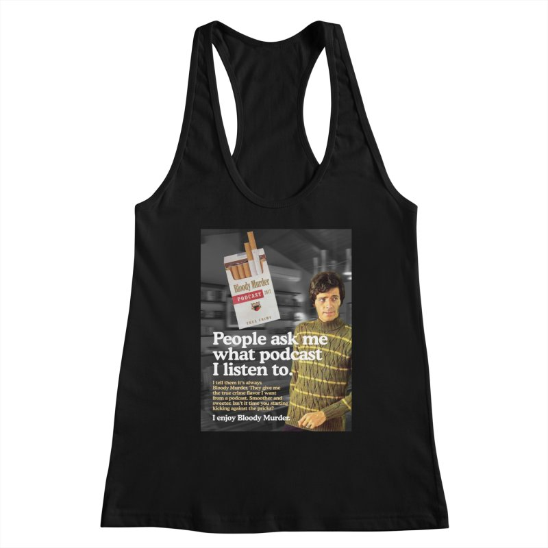 Bloody Murder 1970's Magazine Style Advert Women's Tank by Bloody Murder's Artist Shop