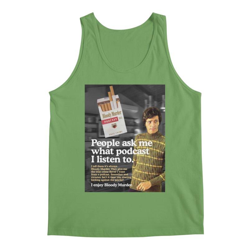 Bloody Murder 1970's Magazine Style Advert Men's Tank by Bloody Murder's Artist Shop