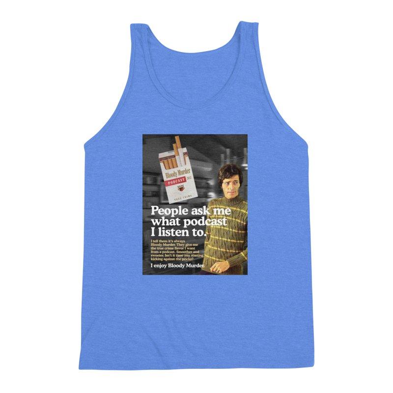 Bloody Murder 1970's Magazine Style Advert Men's Triblend Tank by bloodymurder's Artist Shop