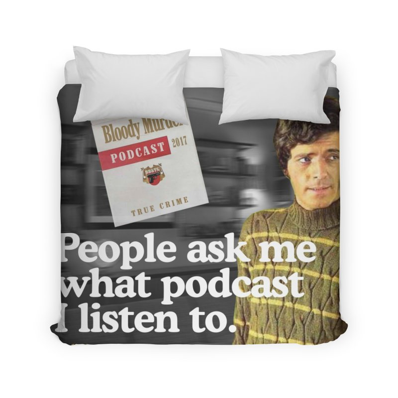 Bloody Murder 1970's Magazine Style Advert Home Duvet by bloodymurder's Artist Shop