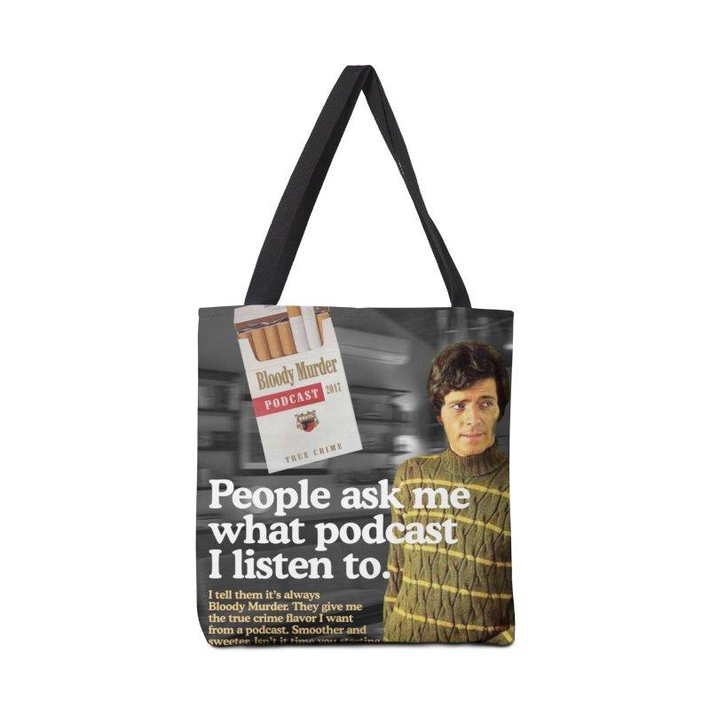 Bloody Murder 1970's Magazine Style Advert Accessories Bag by Bloody Murder's Artist Shop