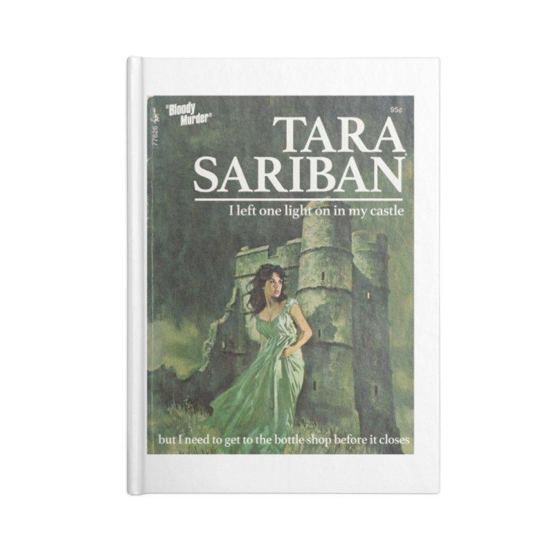 Tara Castle Accessories Notebook by bloodymurder's Artist Shop