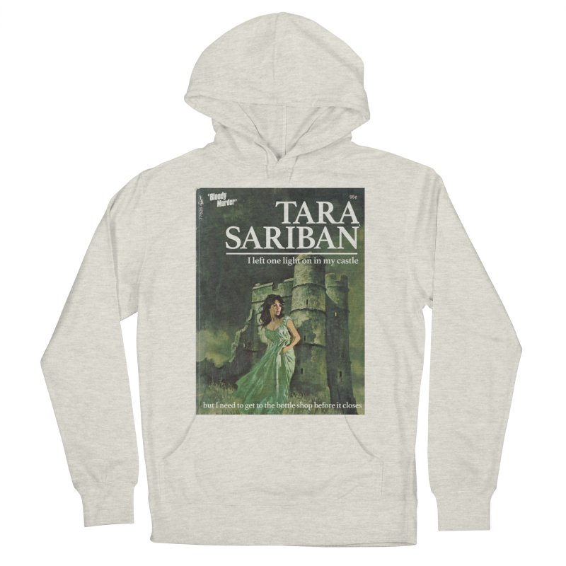 Tara Castle Women's French Terry Pullover Hoody by Bloody Murder's Artist Shop