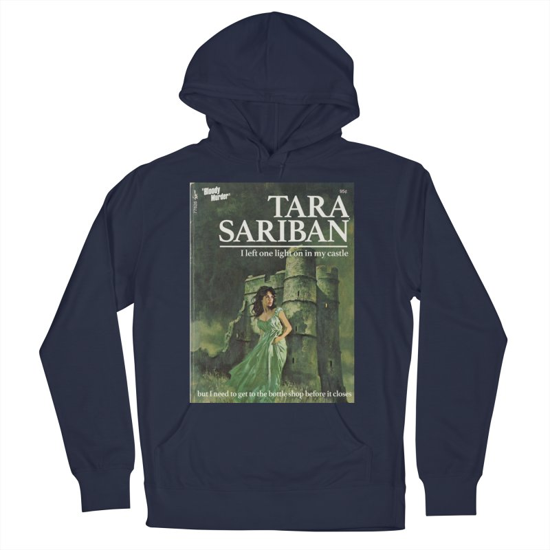 Tara Castle Women's French Terry Pullover Hoody by bloodymurder's Artist Shop