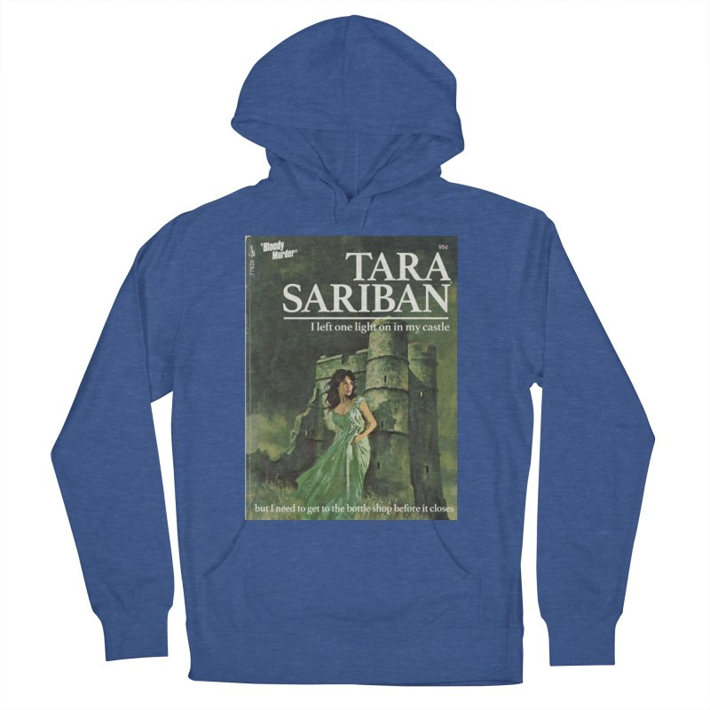 Tara Castle Men's French Terry Pullover Hoody by bloodymurder's Artist Shop