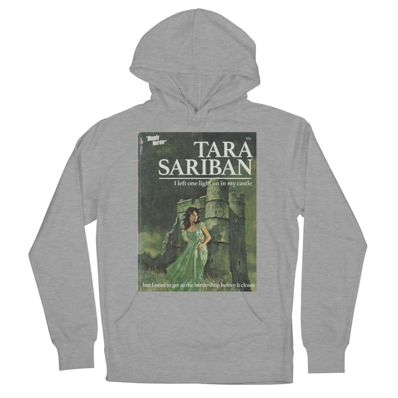 Tara Castle Men's French Terry Pullover Hoody by Bloody Murder's Artist Shop