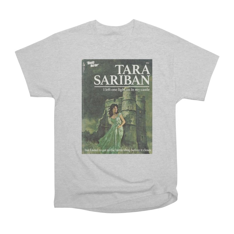 Tara Castle Women's Heavyweight Unisex T-Shirt by Bloody Murder's Artist Shop