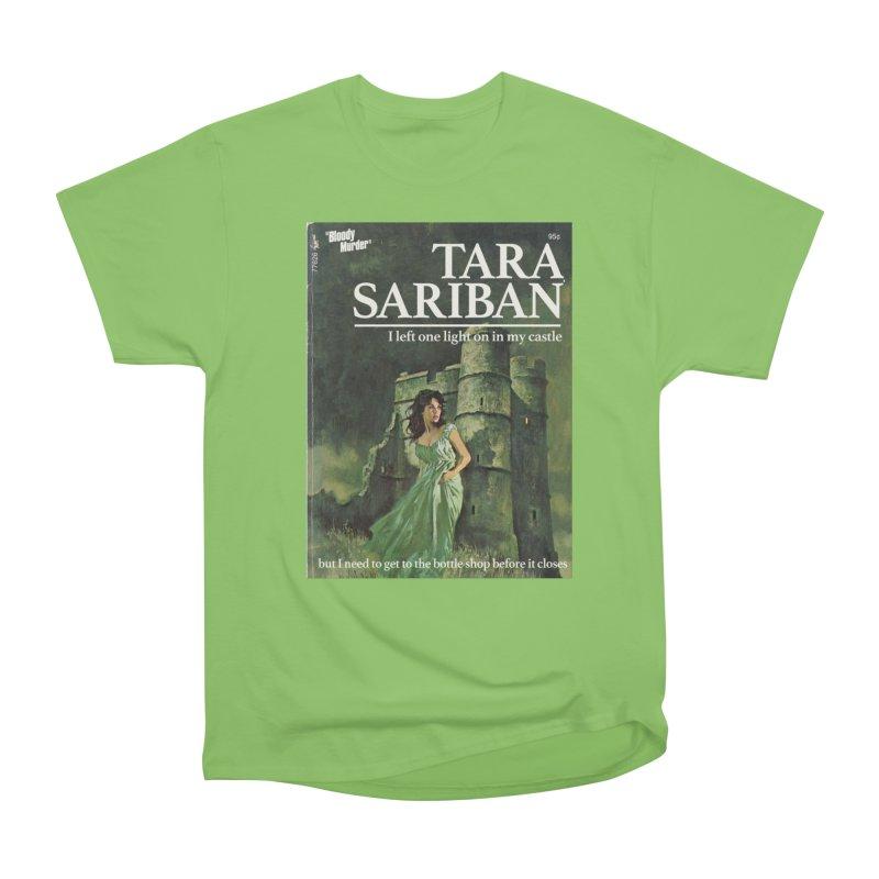 Tara Castle Women's Heavyweight Unisex T-Shirt by Bloody Murder's Artist Shop