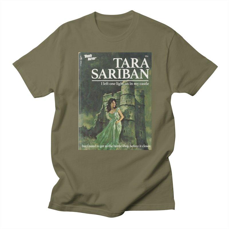 Tara Castle Men's Regular T-Shirt by Bloody Murder's Artist Shop