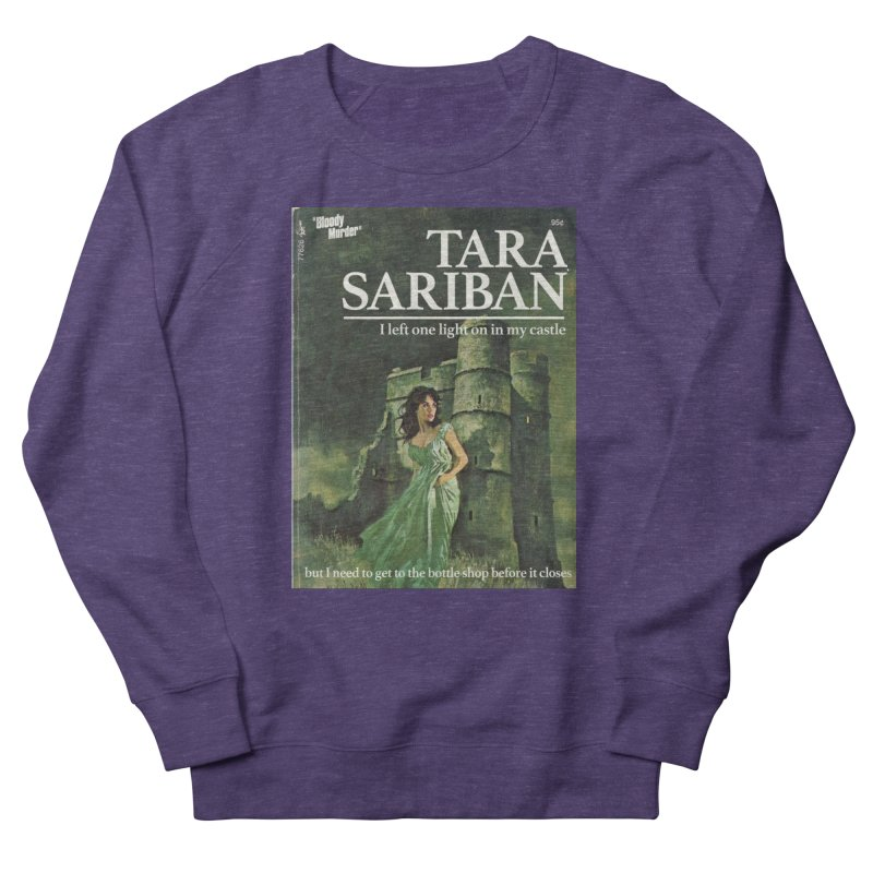 Tara Castle Women's French Terry Sweatshirt by bloodymurder's Artist Shop