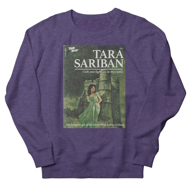 Tara Castle Men's French Terry Sweatshirt by bloodymurder's Artist Shop