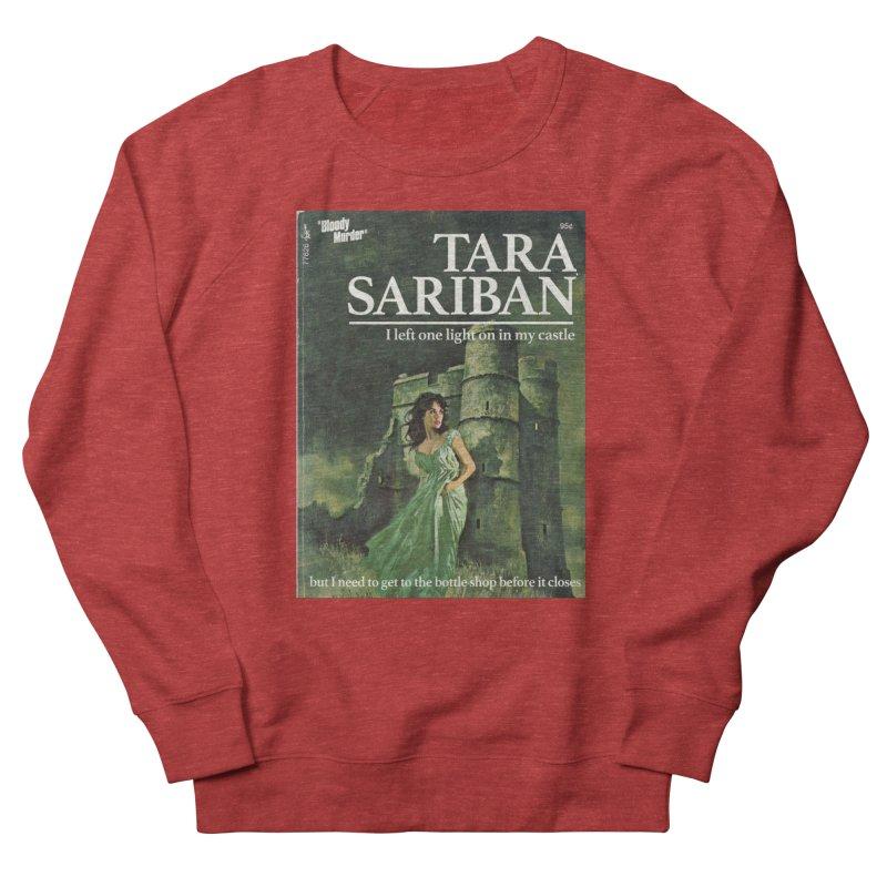 Tara Castle Men's French Terry Sweatshirt by Bloody Murder's Artist Shop