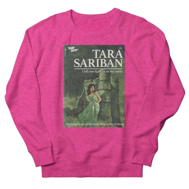 Tara Castle Men's French Terry Sweatshirt by Bloody Murder's Artist Shop