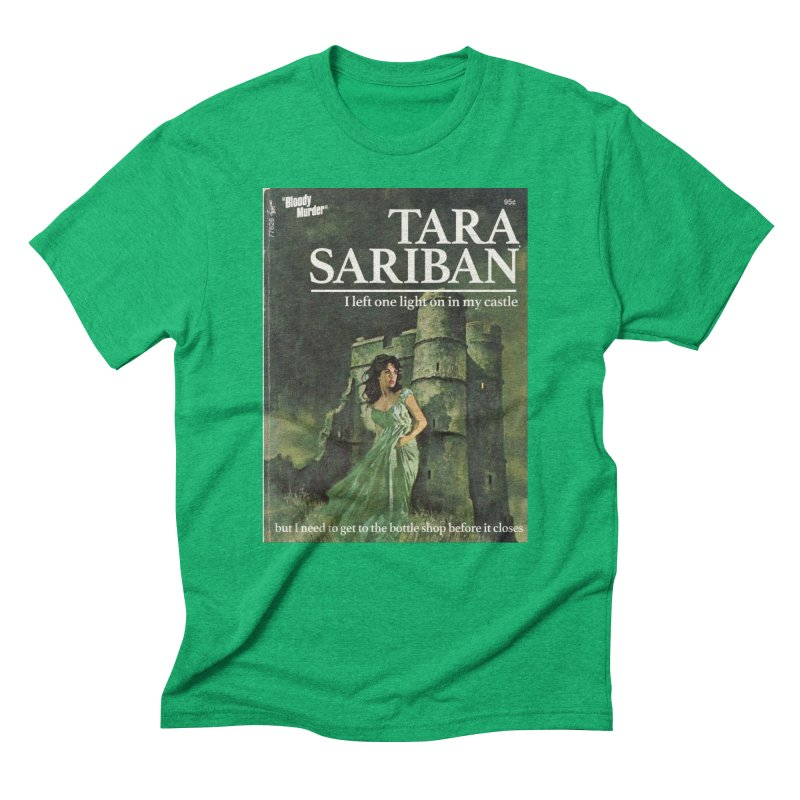 Tara Castle Men's Triblend T-Shirt by bloodymurder's Artist Shop