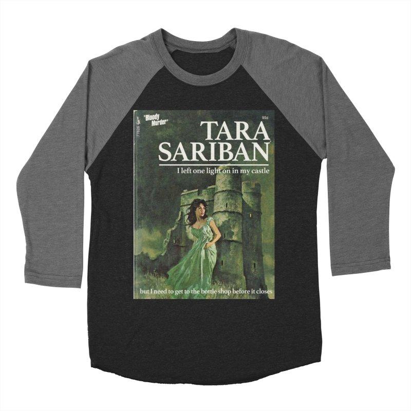 Tara Castle Women's Baseball Triblend Longsleeve T-Shirt by Bloody Murder's Artist Shop