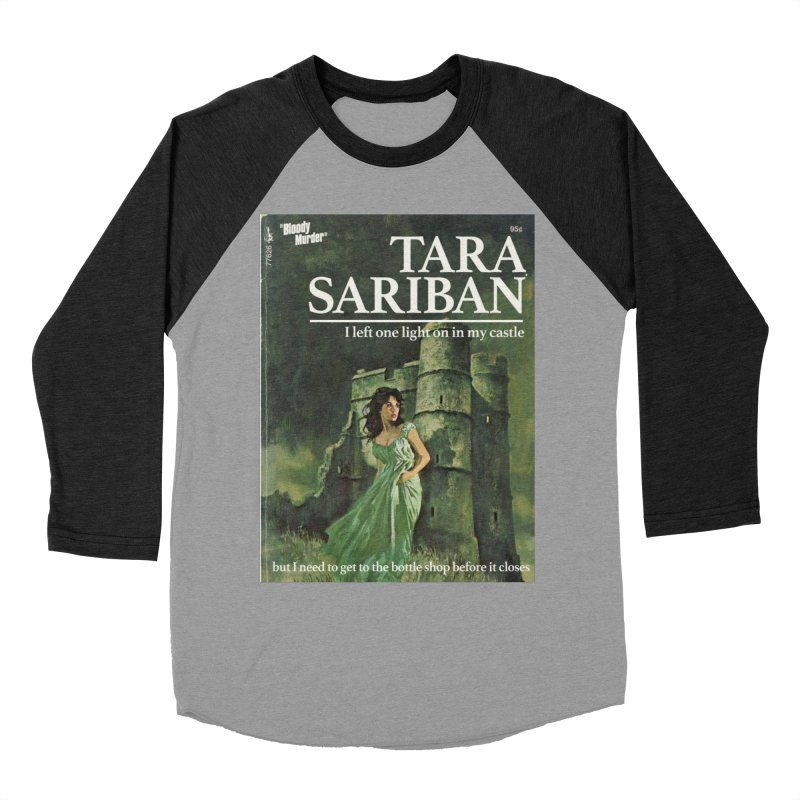 Tara Castle Women's Baseball Triblend T-Shirt by bloodymurder's Artist Shop