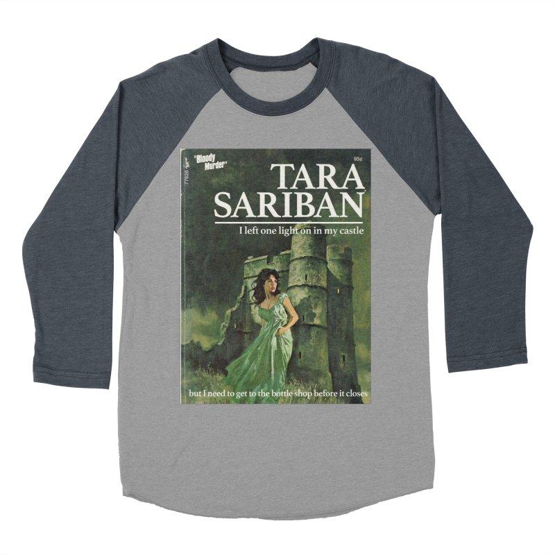 Tara Castle Men's Baseball Triblend Longsleeve T-Shirt by Bloody Murder's Artist Shop