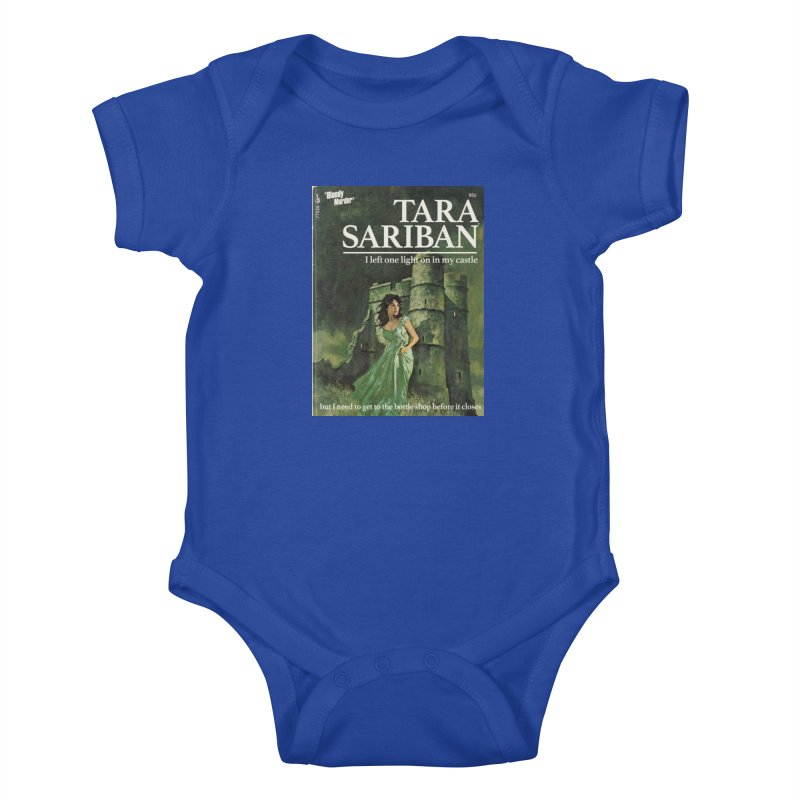 Tara Castle Kids Baby Bodysuit by Bloody Murder's Artist Shop
