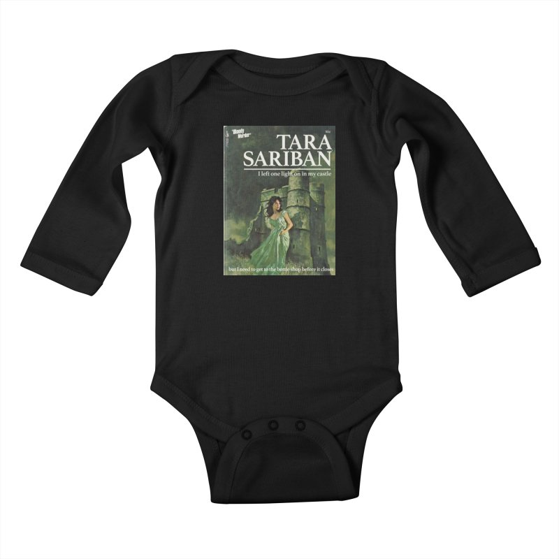 Tara Castle Kids Baby Longsleeve Bodysuit by bloodymurder's Artist Shop
