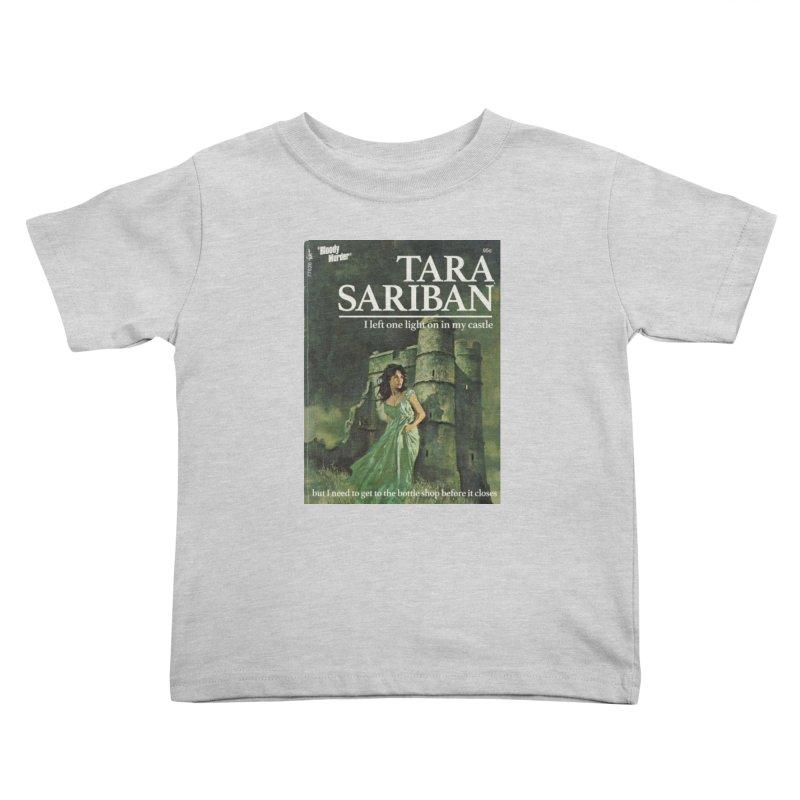 Tara Castle Kids Toddler T-Shirt by Bloody Murder's Artist Shop