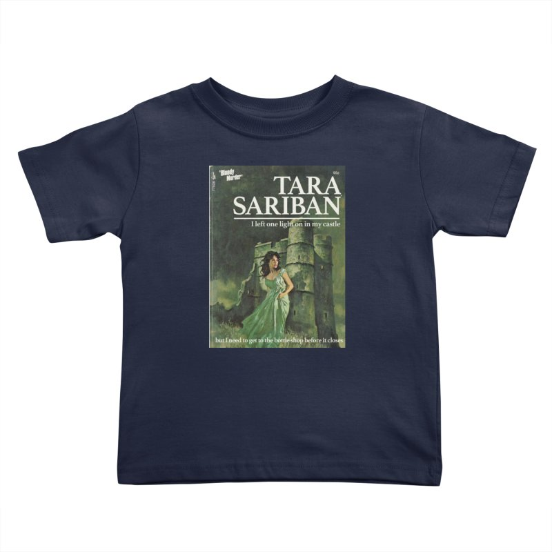 Tara Castle Kids Toddler T-Shirt by bloodymurder's Artist Shop