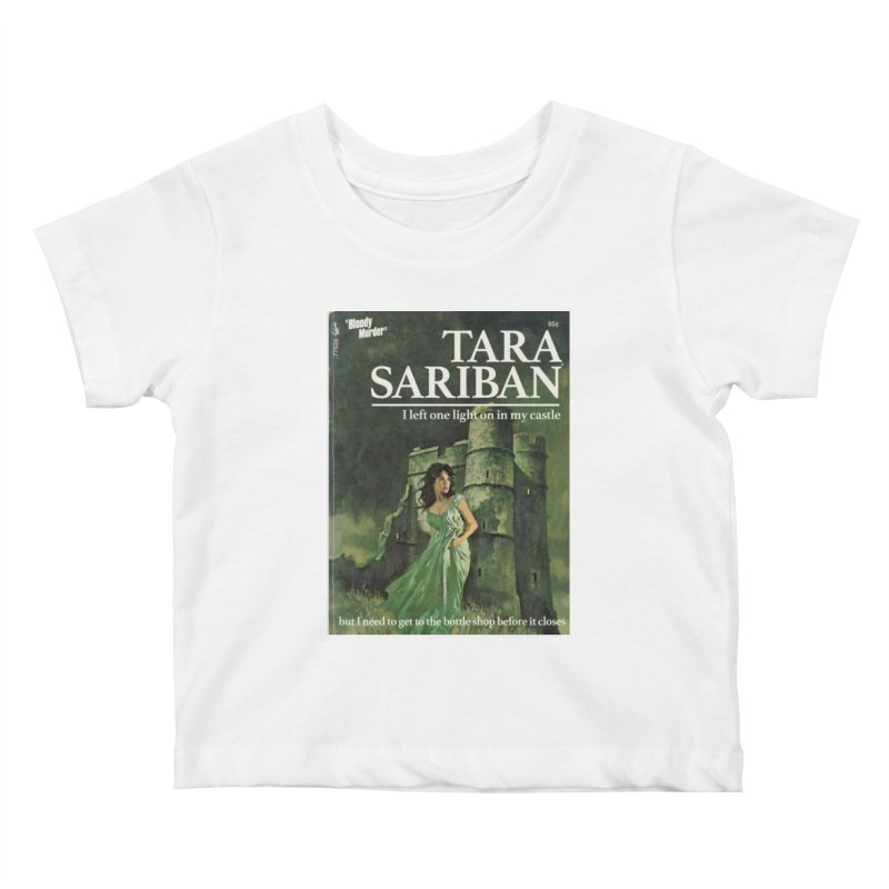 Tara Castle Kids Baby T-Shirt by bloodymurder's Artist Shop
