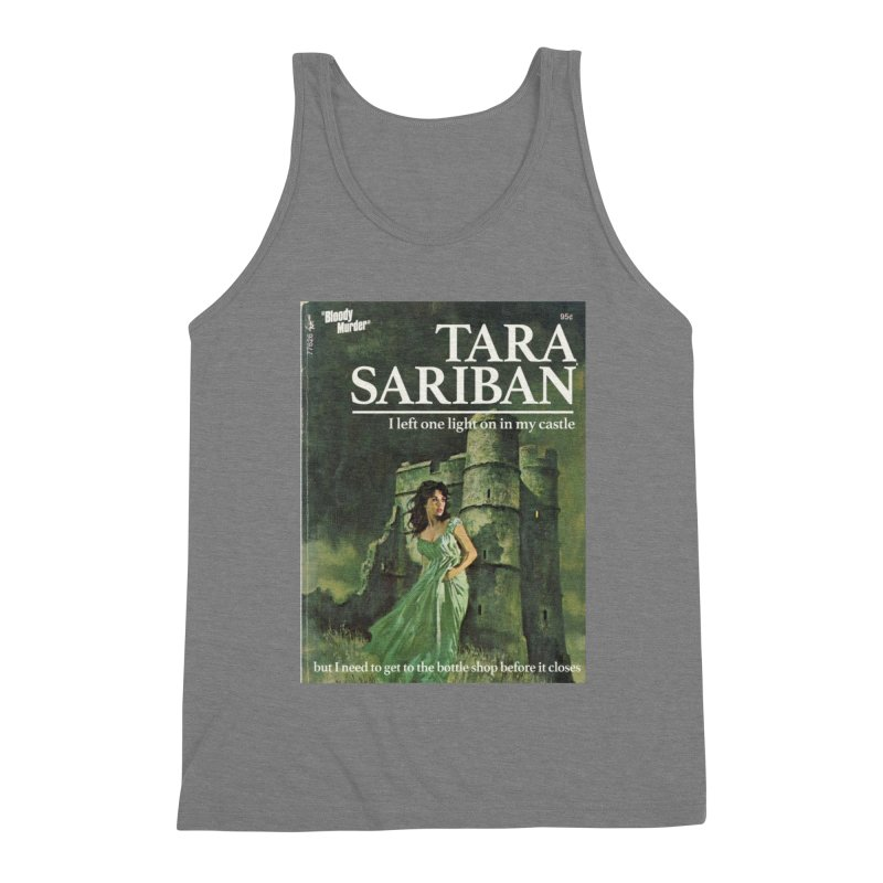 Tara Castle Men's Triblend Tank by Bloody Murder's Artist Shop