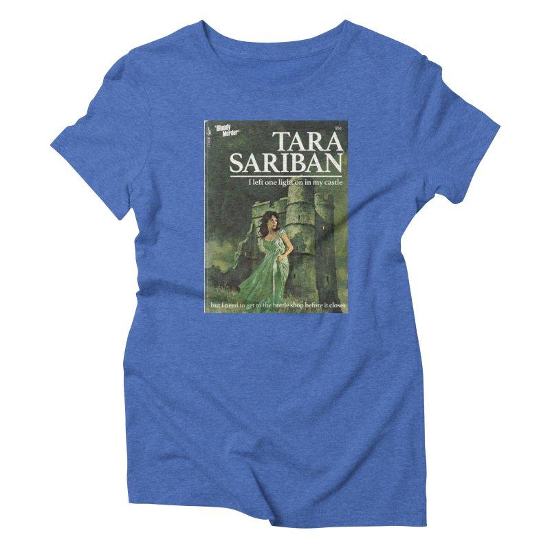 Tara Castle Women's T-Shirt by Bloody Murder's Artist Shop