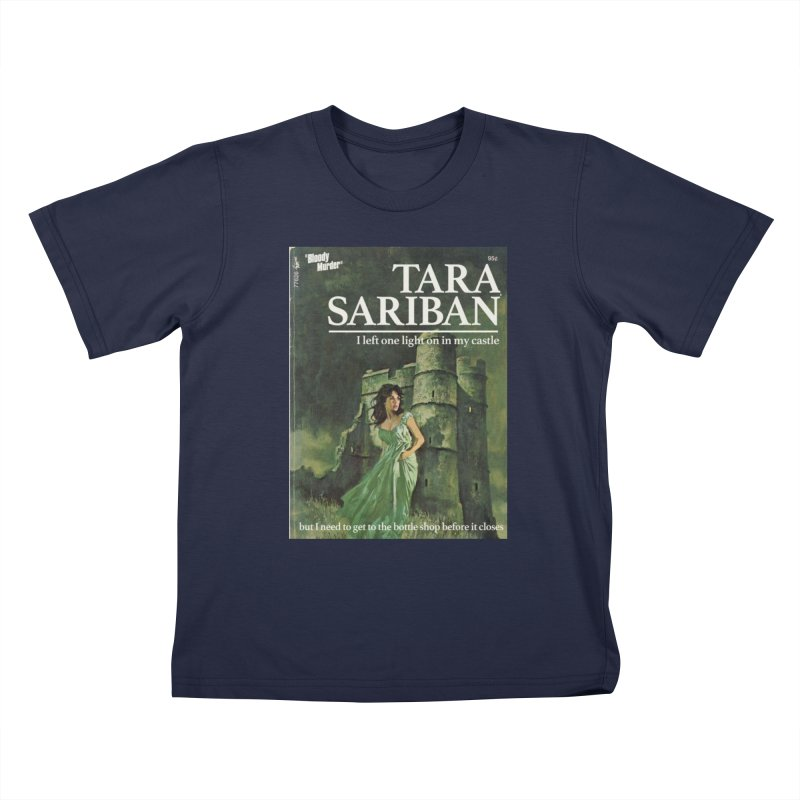Tara Castle Kids T-Shirt by Bloody Murder's Artist Shop