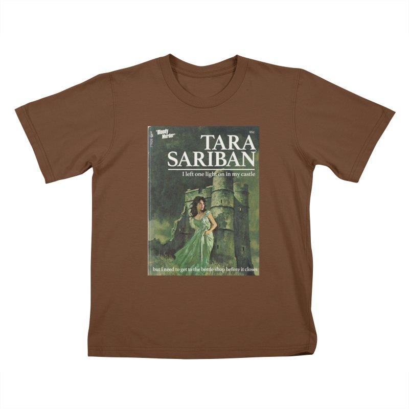 Tara Castle Kids T-Shirt by bloodymurder's Artist Shop